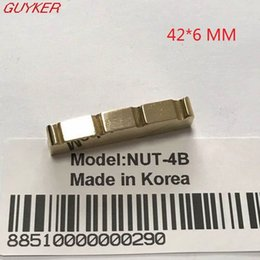 online shopping Slotted Brass Bass Nut for Electric Bass Guitar Size mm