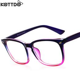 wholesale kottdo 2016 fashion new reading eyeglasses men women brand designer eye glasses spectacle frame optical computer eyewear oculos cheap designer