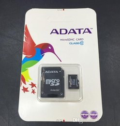 100% réel ADATA 2 Go 4 Go 8 Go 16 Go 32 Go 64 Go Class10 Micro SD TF Mémoire SDHC Carte SD Adaptateur