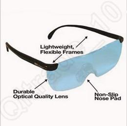 Большой Видение увеличительное очки очки См 160% Больше Лучше 160 градусов увеличительное очки делает все больше и Clear CCA5282 96pcs