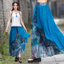 Discount Patterned Wide Leg Pants | 2017 Patterned Wide Leg Pants ...