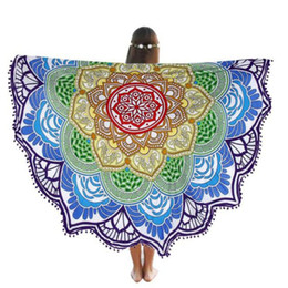 online shopping Brand New And High Quality Multicolor Round Beach Pool Home Shower Towel Blanket Table Cloth Yoga Mat Nov14