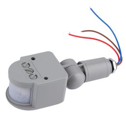 2016 Unique Outdoor AC 220V Automatic Infrared PIR Motion Sensor Switch For  LED Light Cheap Outdoor Lighting Switches