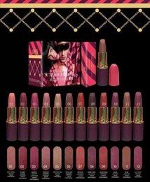 El grupo dulce CALIENTE del color 2 de la colección 12 del nuevo del maquillaje del lápiz labial del lápiz labial del maquillaje DHL libera el envío