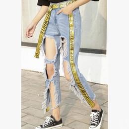 White Ripped Boyfriend Jeans Online | White Ripped Boyfriend Jeans ...