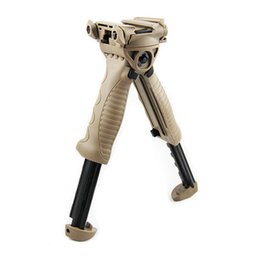 MAKO FAB Defense T-POD G2 Vertical Foregrip and Incorported Swivel Bipod Dark Earth