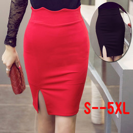 Discount Womens Red Pencil Skirt | 2017 Womens Red Pencil Skirt on ...