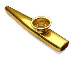 La flûte libre de bouche d'Harmonica de Kazoo de métal d'expédition joue l'instrument musical de Kid Kid de cadeau pour l'apprenant LLFA