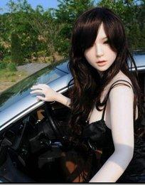Wholesale Sexo oral sexo boneca brinquedos para homens bonito japonês real silicone amor sexo boneca eu amo lucy boneca feminina amor gay com cabelos loiros
