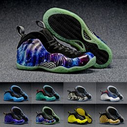 online shopping With Box Newest Air Penny Hardaway Foam One Olympic USA Men Foams Basketball Shoes Trainer Sneakers High Quality Sport Shoes Size
