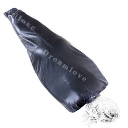 Wholesale Soft Leather Roleplay Sleep Sacks Envoltura Corporal Straitjacket Full Body Wrap Restringir Cocoon Fetish Traje