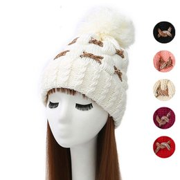2017 wholesale knitted cashmere hat cape hatchimals bonnets hats winter hats fitted hat knitted hat earflap carb cap cashmere beanies for women and lady fashion