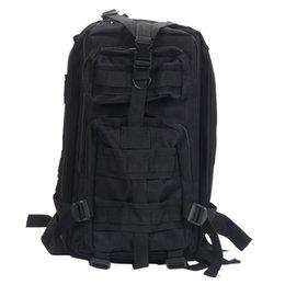 EUA Frete Grátis 3P mochila março ao ar livre tático militar mochila saco ombro saco preto 89006304