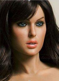 Wholesale Las muñecas vivas verdaderas del sexo del silicón sólido hermoso del descuento del para los hombres mini películas realistas del amor la muñeca inflable vagina juega la fábrica del dropship