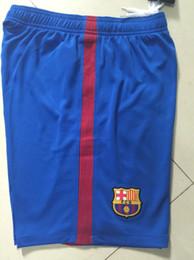 ^ _ ^ Atacado 16/17 futebol shorts top tailandês qualidade 3AAA personalizar número futebol shorts uniformes de futebol