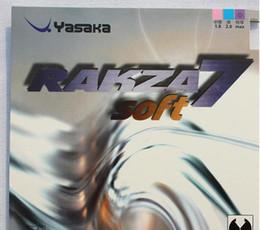Yasaka rakza7 soft / rk 7 soft / R7 caoutchouc de tennis de table caoutchouc pingpong pour raquette de tennis de table / lame / paddle / chauve-souris sports d'intérieur