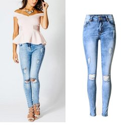 Discount Distressed Skinny Jeans For Women | 2017 Distressed ...