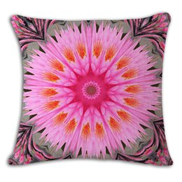 Ethnic Bohemian Style Decorative Pillow Case Cotton Linen Vintage Geometric Chair Seat Square Pillow Cushion Cover Home Textile