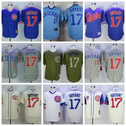 online shopping 2016 World Series Champions Patch Kris Bryant Chicago Cubs Throwback Black Gray Green Blue White MLB Baseball Jerseys style
