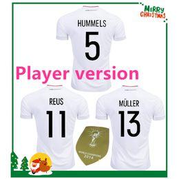 online shopping Player version Germany OZIL MULLER GOTZE HUMMELS KROOS  BOATENG REUS Soccer Wear jerseys thai e587fe7df