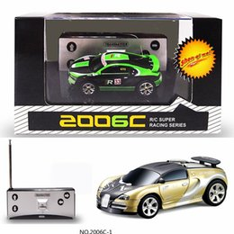 wholesale hot mini rc car high speed racing coke can car remote radio control vehicle toy 1 58 27mhz 40mhz 4ch gift for kids children affordable mini