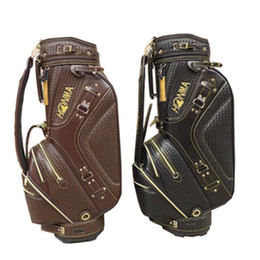 New mens honma Golf bag High quality Golf clubs bag black brown colors in choice Golf Cart bag Free shipping
