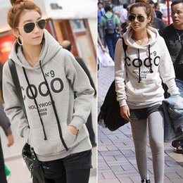 Wholesale Women Hoodies Sweatshirt Hot Sale Llegada Full Tracksuits Sport Suitseras Moletom Winter Pullovers Brand Casual