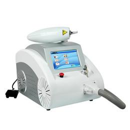 1064 532nm Q Switched Nd YAG лазер татуировка Брови Пигмент удаления машины Шрам Угри Remover LLFA