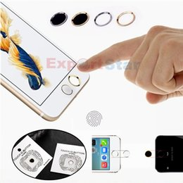 Benks Bouton Clé Métal Rond Maison Clavier Doigt Smart Fingerprint Capteur Clavier Tactile Touch ID Pour iPhone 5S 6 6plus avec Paper Package