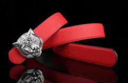 belts for men designer 35m6  Fashion brand designer belts men senior tiger head copper buckle belts new  design cowhide belts for men and women waist belt