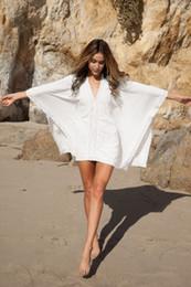 online shopping Ladies sexy cotton plus lace beach bikini outside the blouse beach shirt dress beach cover up dresses bathing suits for women bodysuit1605
