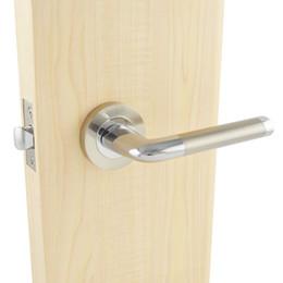PL1084NBCP Serrure de porte passante sans clés, Nickel brosséChrome