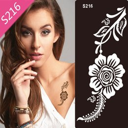 Wholesale New Design Tattoo Stencil Arrival for Body Painting Glitter Tattoo pieces designs to Choose