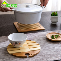 wholesale kitchen accessories napkins on the table placemats tableware mat wood coaster table mat - Kitchen Table Mats