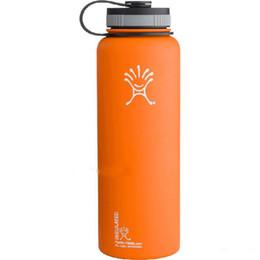 Hydro Flask botella de agua aislada al vacío de 18 onzas 532ml 304 vaso de acero inoxidable botella de agua aislamiento frío CUP