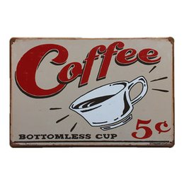 Online Shopping Coffee Bottomless Cup Vintage Rustic Nostalgic Home Decor Bar Pub Hotel Restaurant Coffee Shop