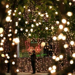 Outdoor Led Party Lights: Wholesale-12Meters 100 LED Outdoor Warm White Solar Lamps LED String Lights  Fairy Holiday Christmas Party Garlands Waterproof IP65 Lights affordable  outdoor ...,Lighting