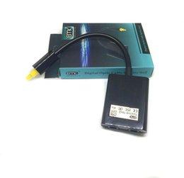 Digital Toslink Divisor de audio de fibra óptica Divisores 1 a 2 Adaptador de cable de cable Negro