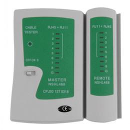 Testeur de câble de réseau professionnel RJ45 RJ11 RJ12 CAT5 UTP LAN Testeur de câble USB Networking Tool Outils de test à distance 100pcs / lot Free DHL
