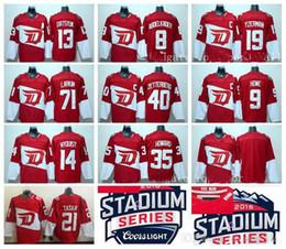55c321bc5 Abdelkader 14 Gustav Men Detroit Red Wings Hockey Jerseys Winter Classic 40  Henrik Detroit Red Wings 8 Justin ...