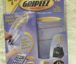 Gripeez amovible intérieur extérieur double face Super Grip Mounting Pads 5 pcs 1set Super Grip téléphone intérieur Anti Slip autocollant LJJK667