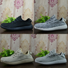 Wholesale 2017 With Box Adidas Best Quality Kanye West Yeezy Boost Pirate Black Turtle Dove Moonrock Oxford Tan Men Running Shoes Online Eur36