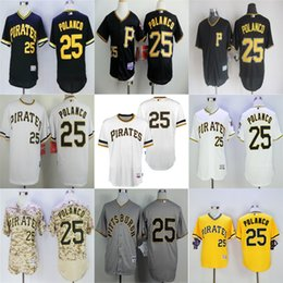 jerseys pullover mn stitched 2017 mens pittsburgh pirates 25 gregory polanco black white grey camo yellow throwback coolbase flex base mens 2016