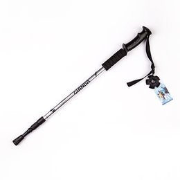 online shopping Outdoor Sports Climbing Mountaineering Accessory Crutch Camping Hiking Pole Walking Telescopic Stick Cane Trekking Skiing Rod