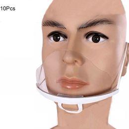Wholesale Transparent Plastic Face Mask Environmental for Tattoo Cleaning Supplies Permanent Makeup Accessorie accessoire de tatoo