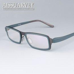eyeglasses for men optical glasses frame small titanium alloy full rim eyewear clear lens prescription classic square new cheap glasses frames for