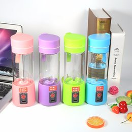 online shopping Portable Mini Juicer Cup with USB Cable Multifunctional Blender Machine Electric Juice Fruit Vegetables Stainless Steel