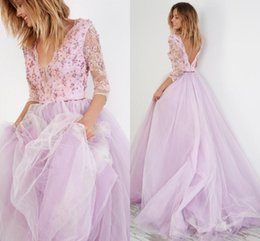 Discount Lilac Beach Wedding Dresses | 2017 Lilac Beach Wedding ...