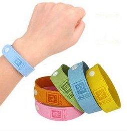 ALTA QUALIDADE Mosquito Repelente Band Bracelets Anti Mosquito Pure Natural bebê mulheres e homens Wristband Hand Ring
