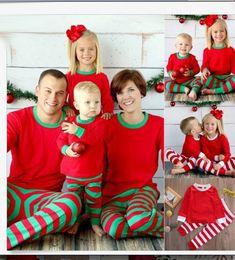 Discount Red Striped Pajamas Wholesale   2017 Red Striped Pajamas ...